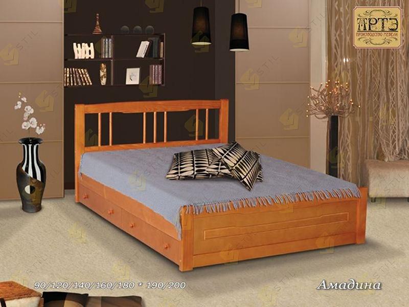 Кровать из массива Амадина