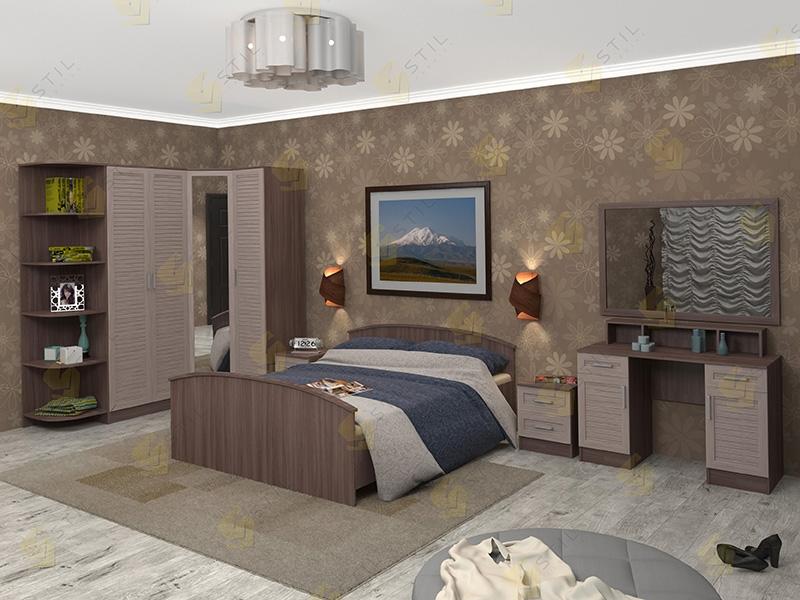 Модульная спальня Арина-10Р