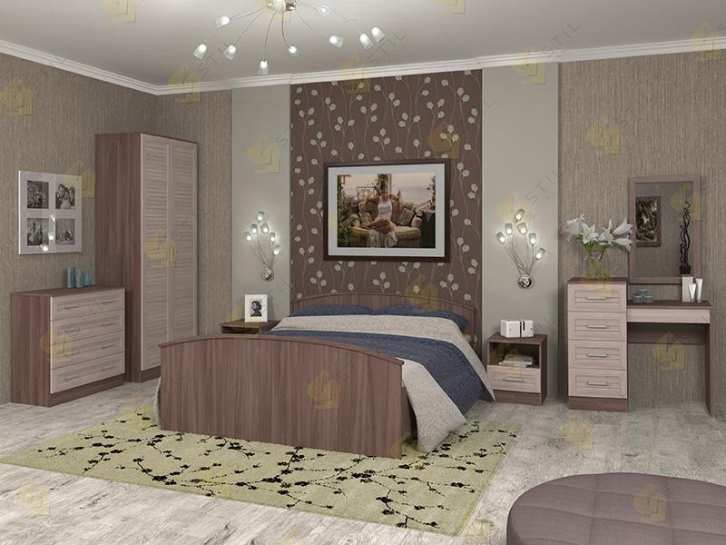 Модульная спальня Арина-4Р
