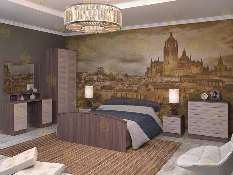 Модульная спальня Арина-5Р