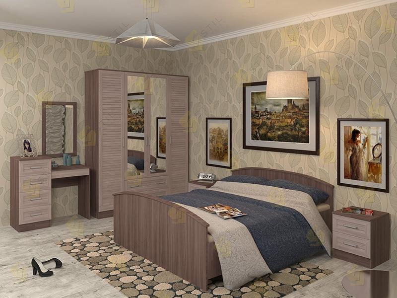 Модульная спальня Арина-7Р