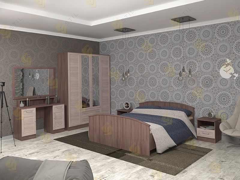 Модульная спальня Арина-8Р