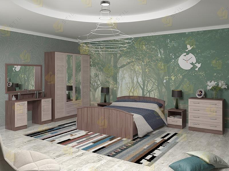 Модульная спальня Арина-9Р