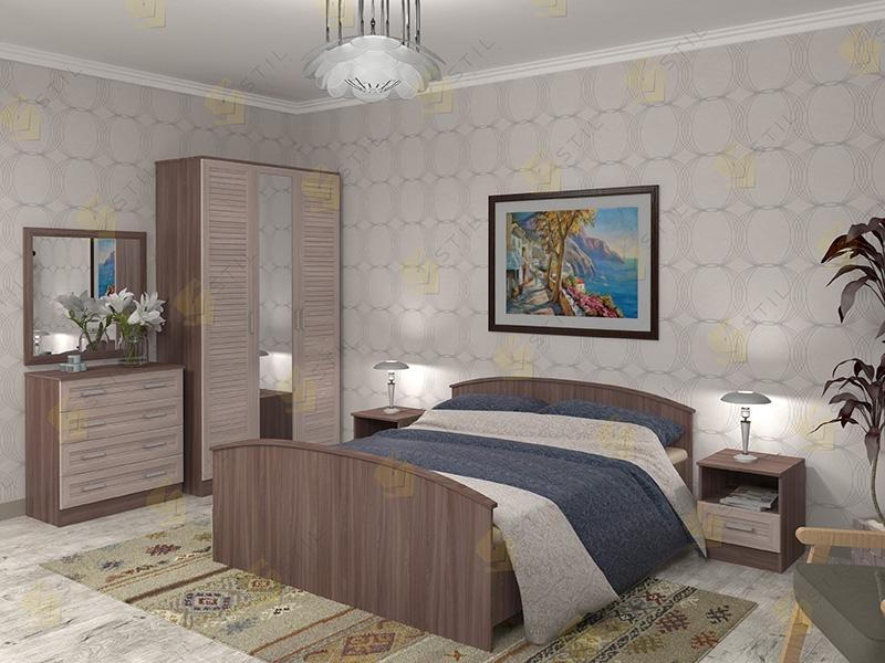 Модульная спальня Арина-2Р