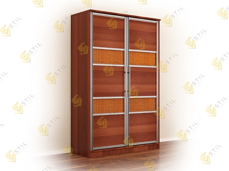 Распашной шкаф  Аристо Р-8  без зеркал
