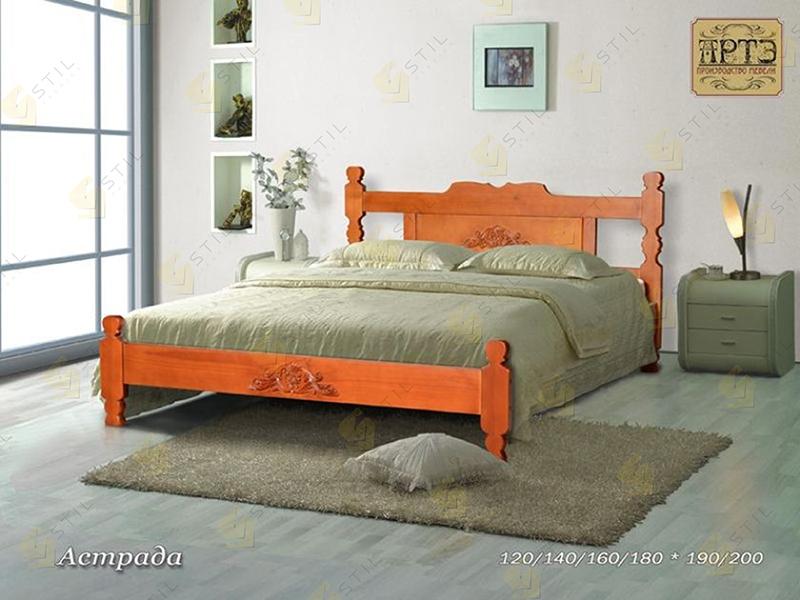 Кровать из массива Астрада