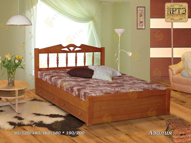 Кровать из массива Азалия