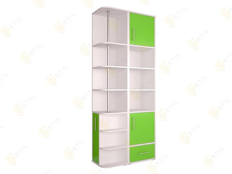 Недорогой шкаф для детской Бэби Стиль С-10