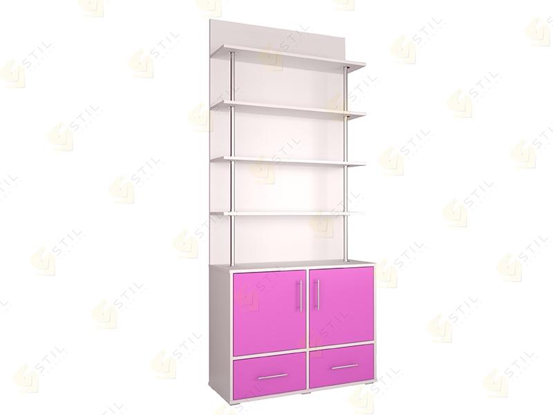 Недорогой шкаф для детской Бэби Стиль С-6