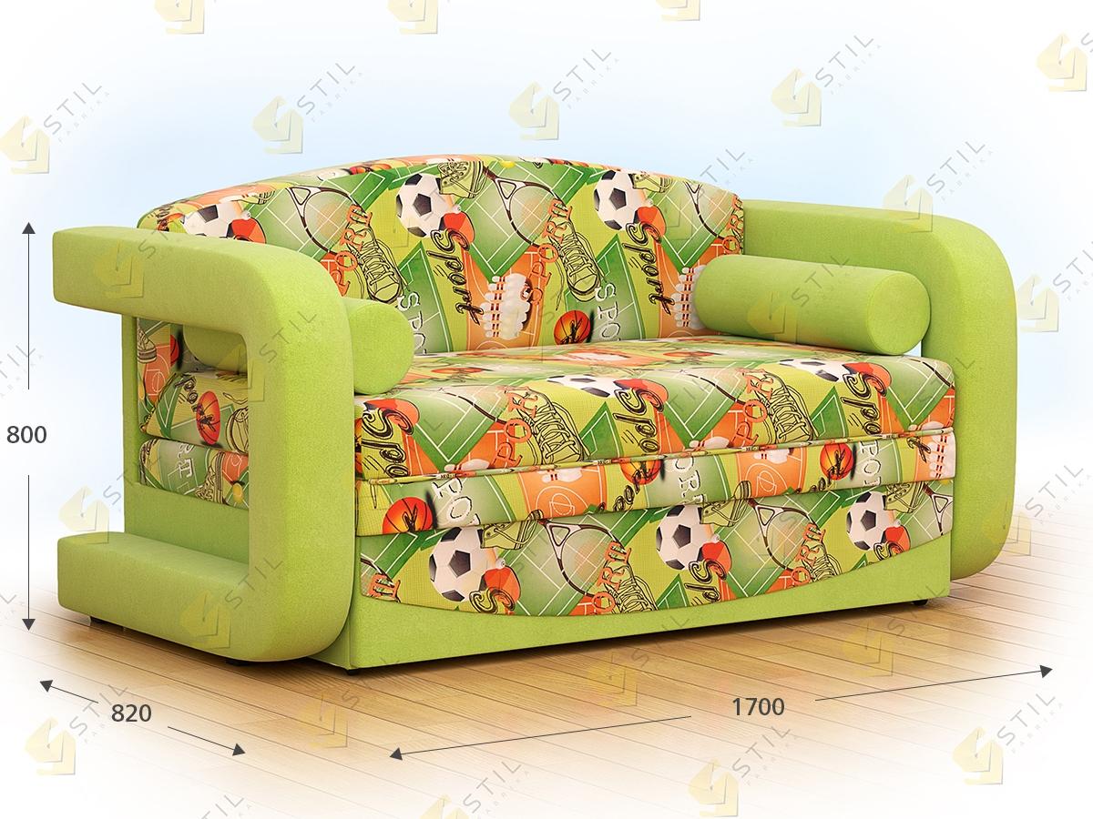 Детский выкатной диван Бейбик 3А