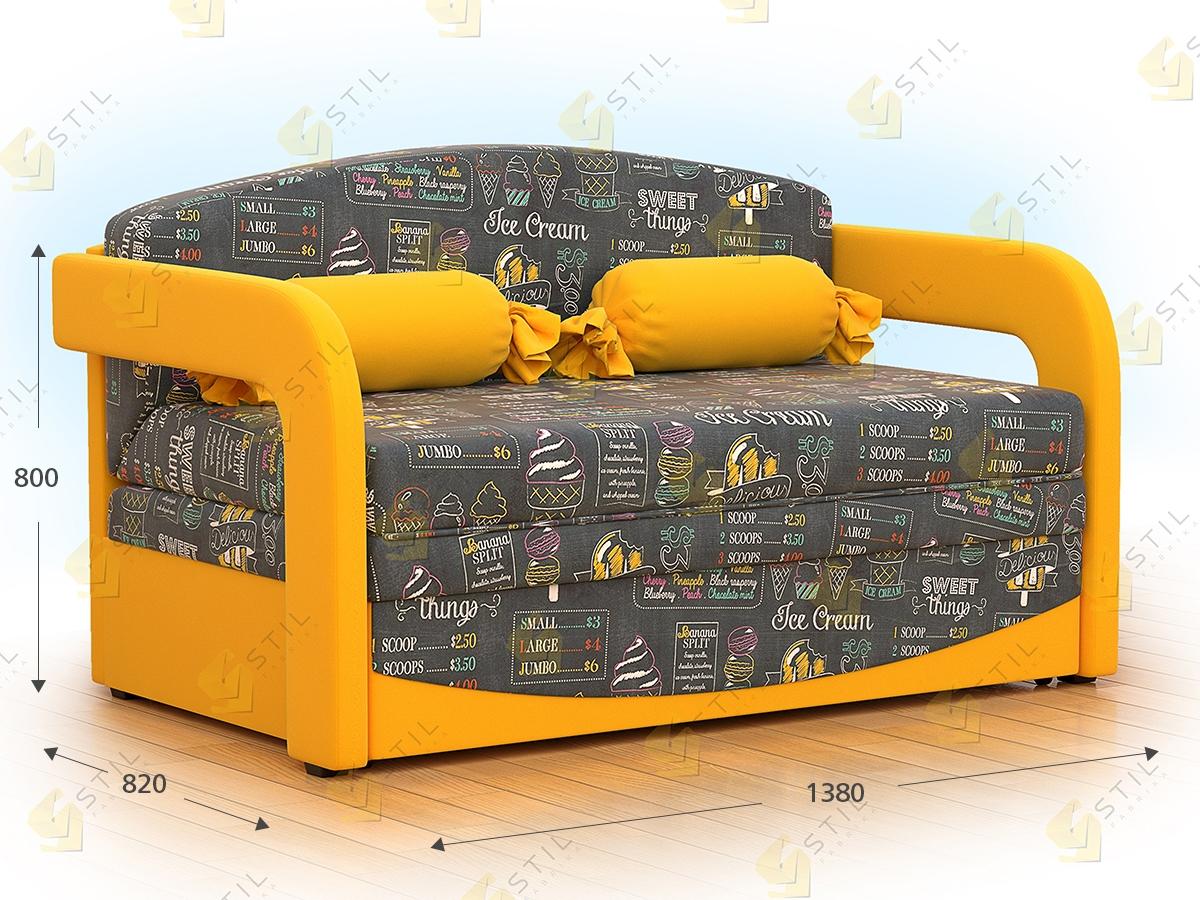 Детский диван Бейбик 4