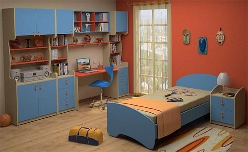Недорогая детская с кроватью Белоснежка-10