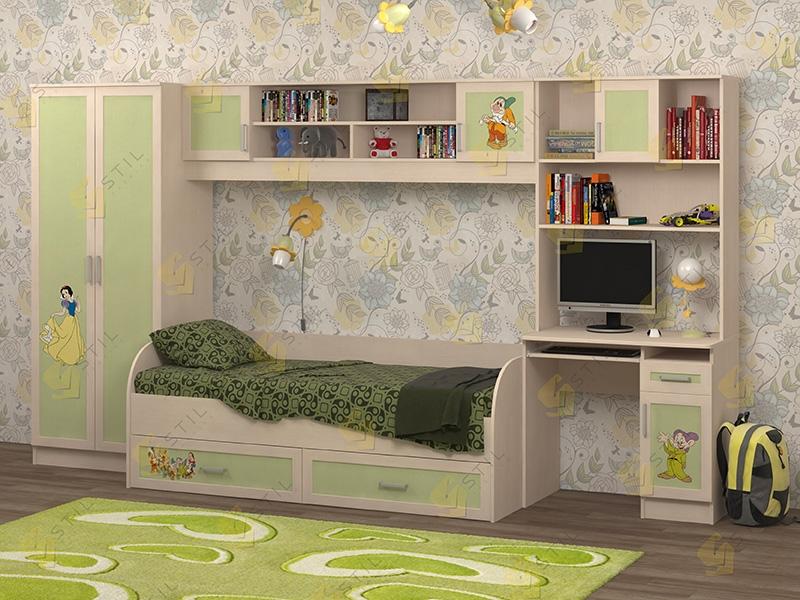 Недорогая мебель в детскую Белоснежка-1 рис. Белоснежка