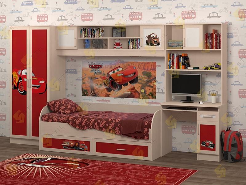 Недорогая мебель в детскую Белоснежка-1 рис.Маквин