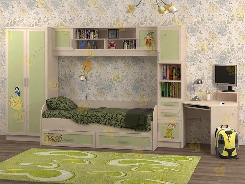 Недорогая мебель в детскую Белоснежка-2 рис.Белоснежка