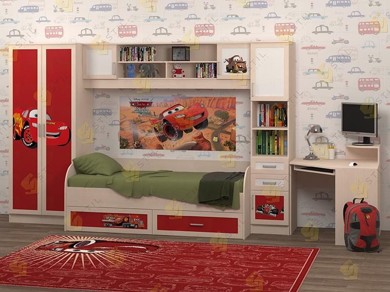 Недорогая мебель в детскую Белоснежка-2 рис.Маквин