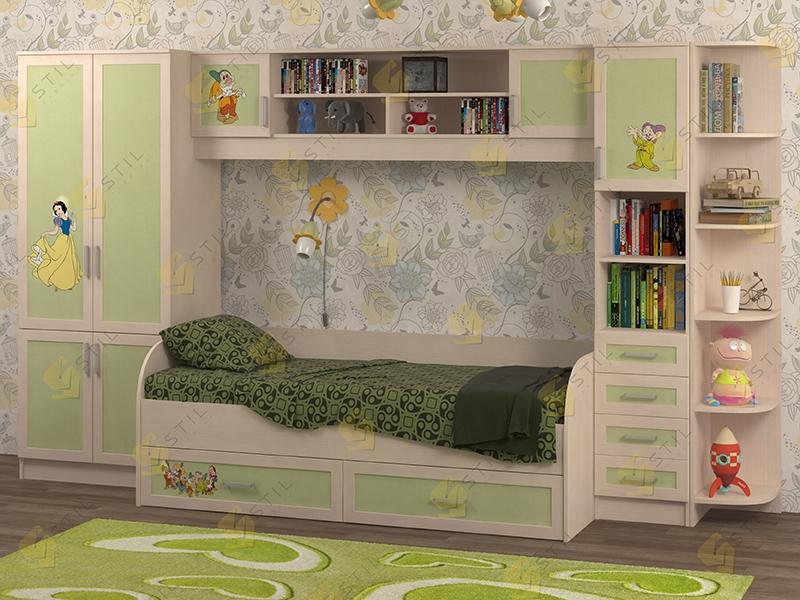 Недорогая мебель для детской Белоснежка-4 рис.Белоснежка