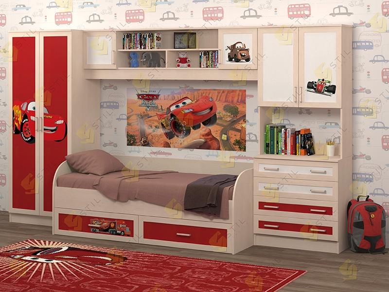 Недорогая мебель в детскую Белоснежка-5 рис.Маквин