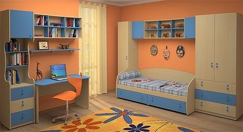 Недорогой набор мебели в детскую Белоснежка-8