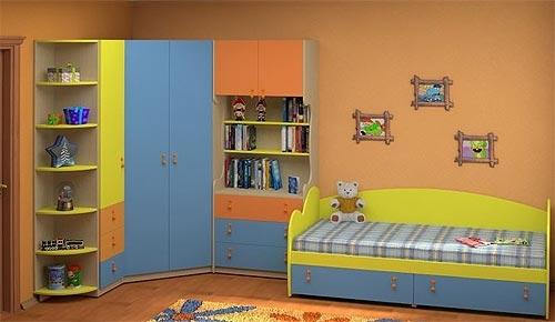 Недорогая мебель для детской Белоснежка-9