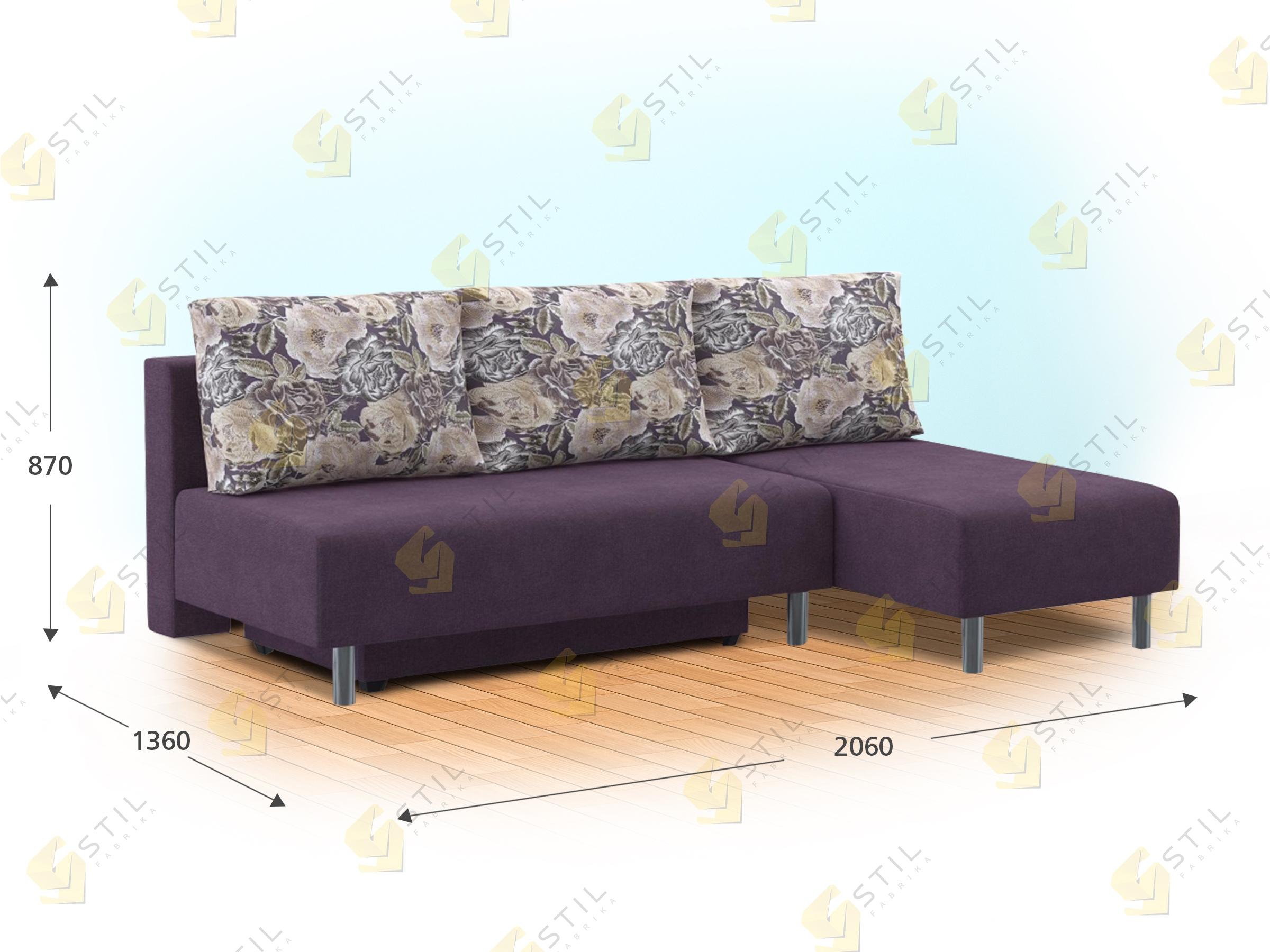 Угловой диван Бизе 206