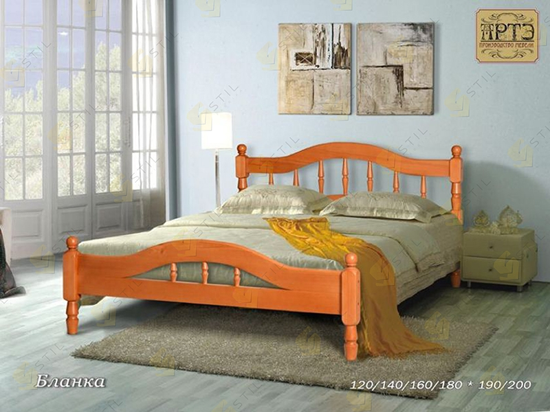 Кровать из массива от производителя