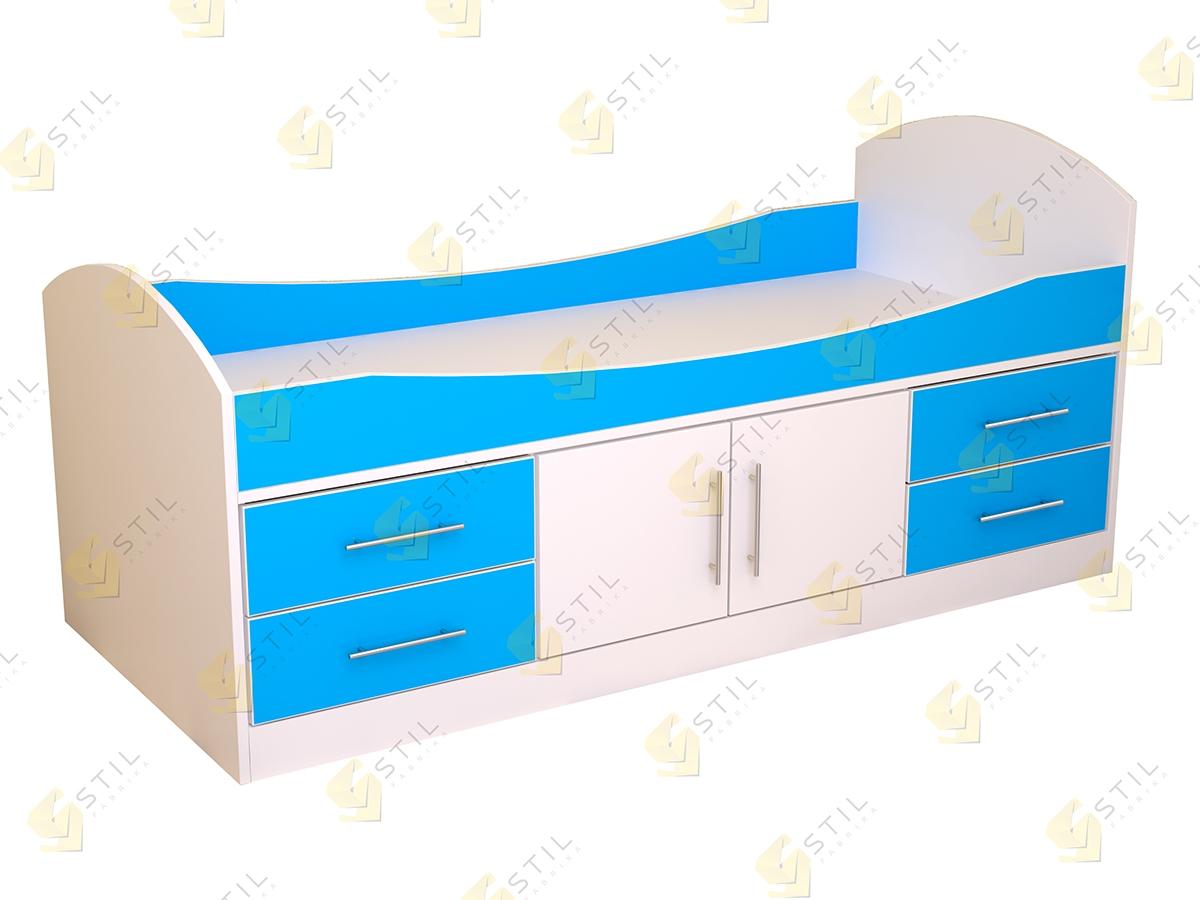 Недорогая кровать для детской Бэби Стиль КР-1