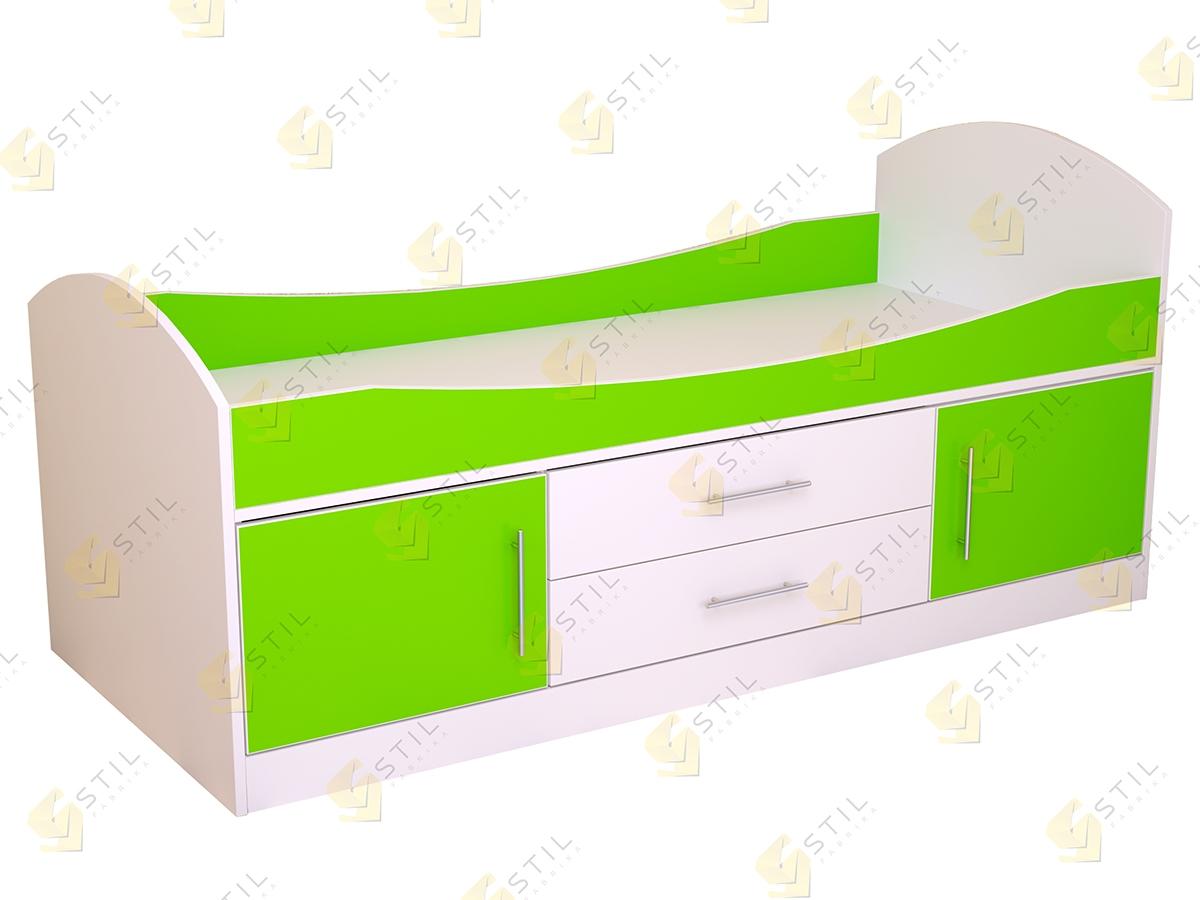 Недорогая детская кровать Бэби Стиль КР-2