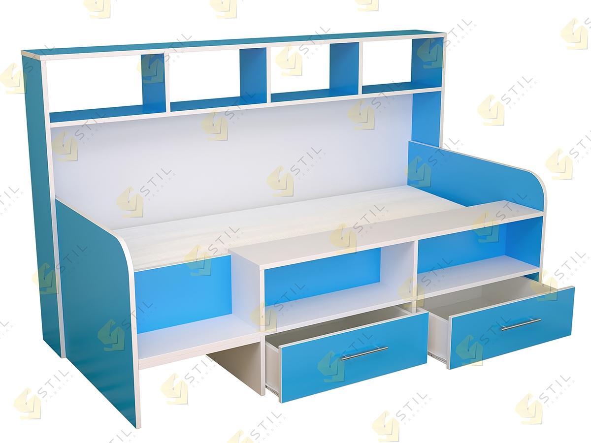Недорогая кровать в детскую Бэби Стиль КР-4