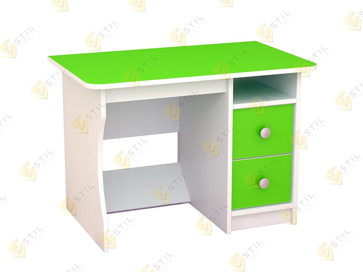 Купить письменный стол в детскую бэби стиль 1 от производите.