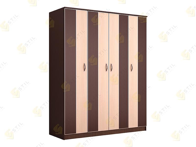 Недорогой четырехдверный шкаф ЧК-1