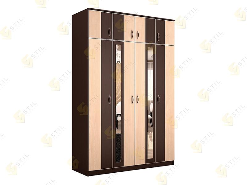 Недорогой четырехстворчатый шкаф ЧК-10