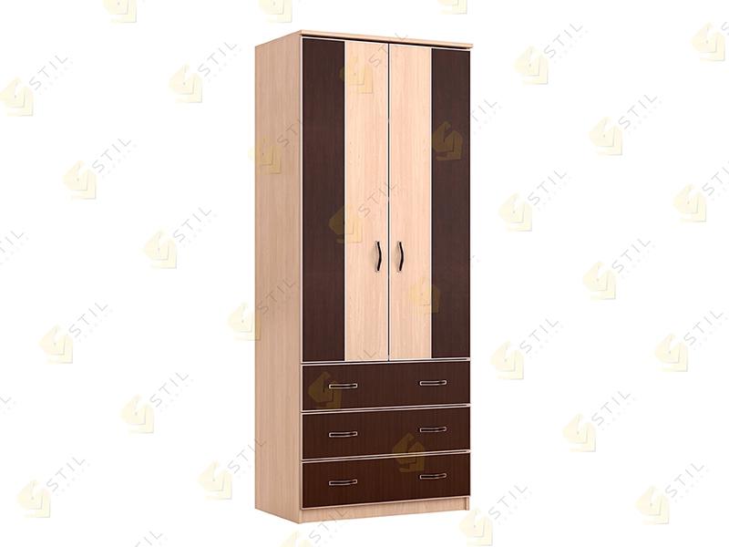 Недорогой двухстворчатый шкаф ДК-4Р
