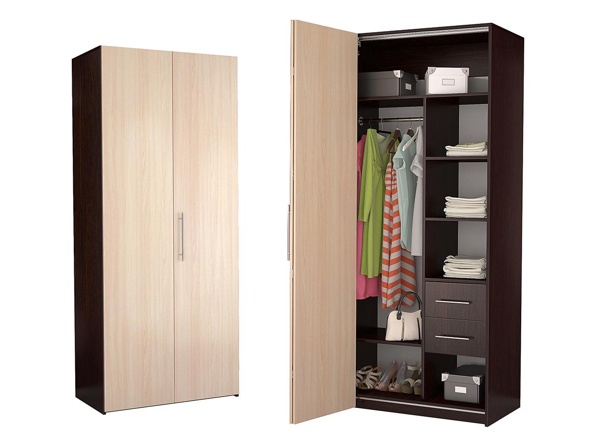 Недорогой двухдверный шкаф-гармошка Дегар Д3