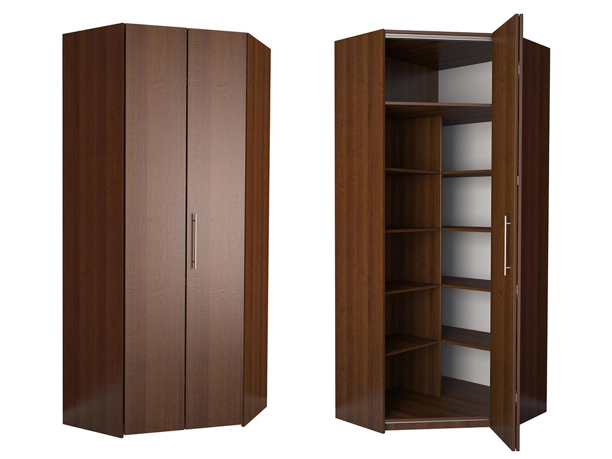 Недорогой угловой шкаф-гармошка Дегар У3