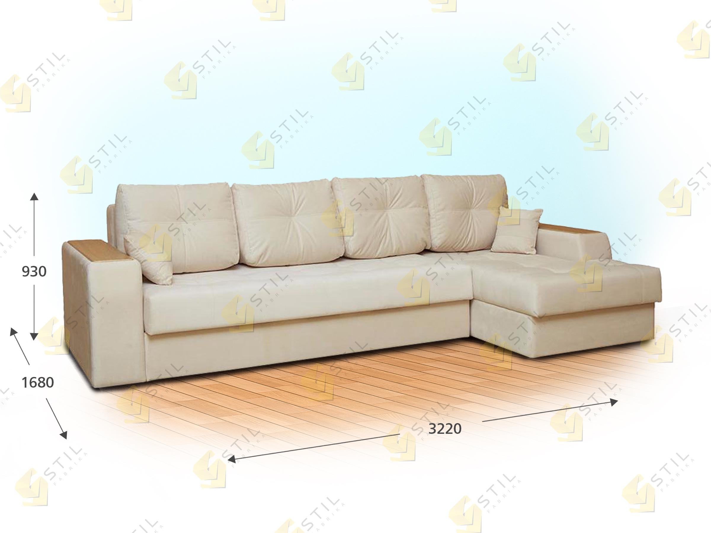 Угловой диван Джакомо