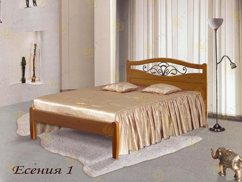 Кровать из массива Есения 1