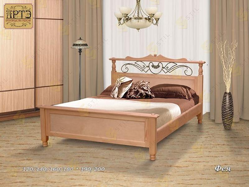 Кровать из массива Фея