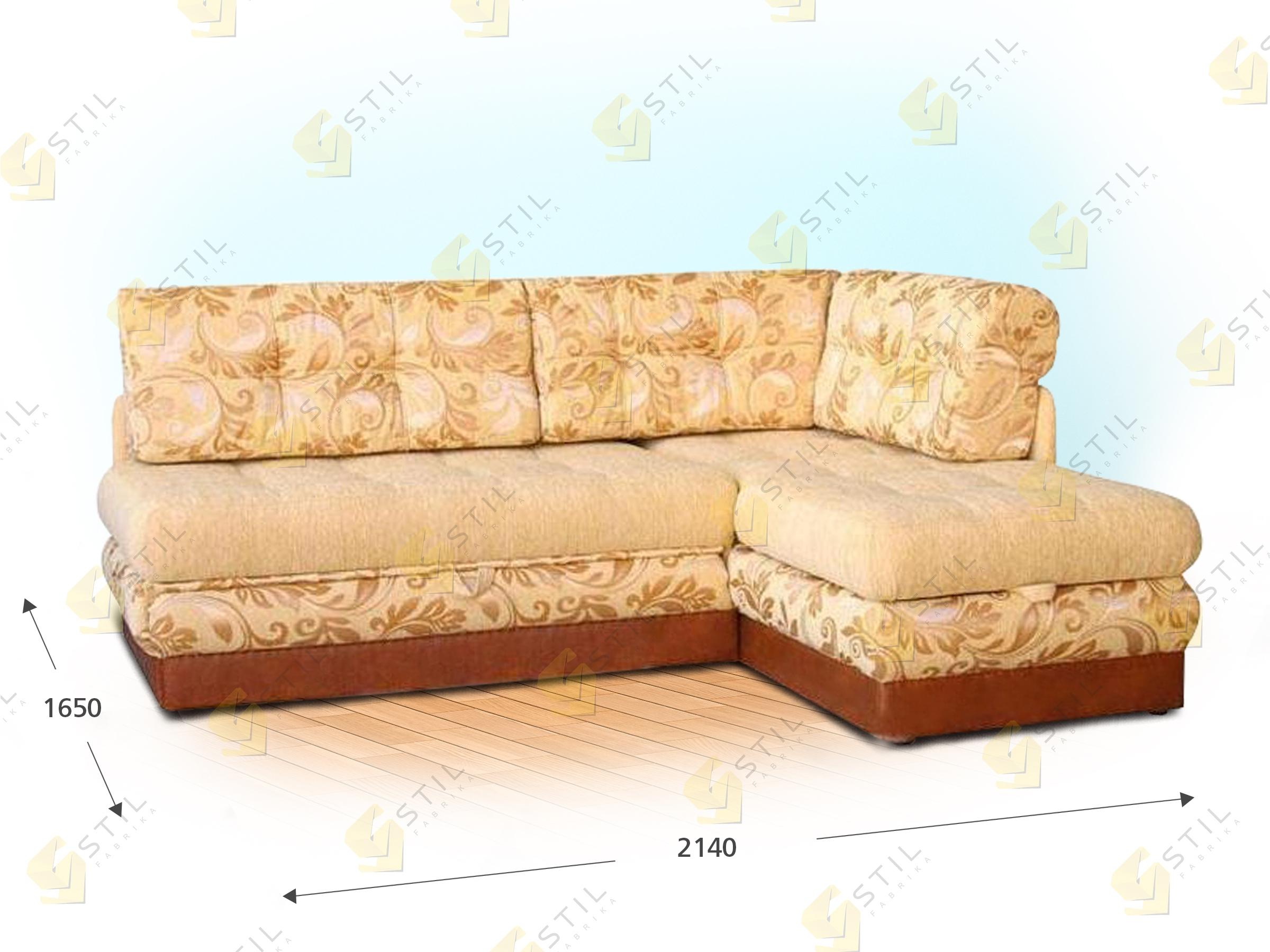 Угловой диван Фибих