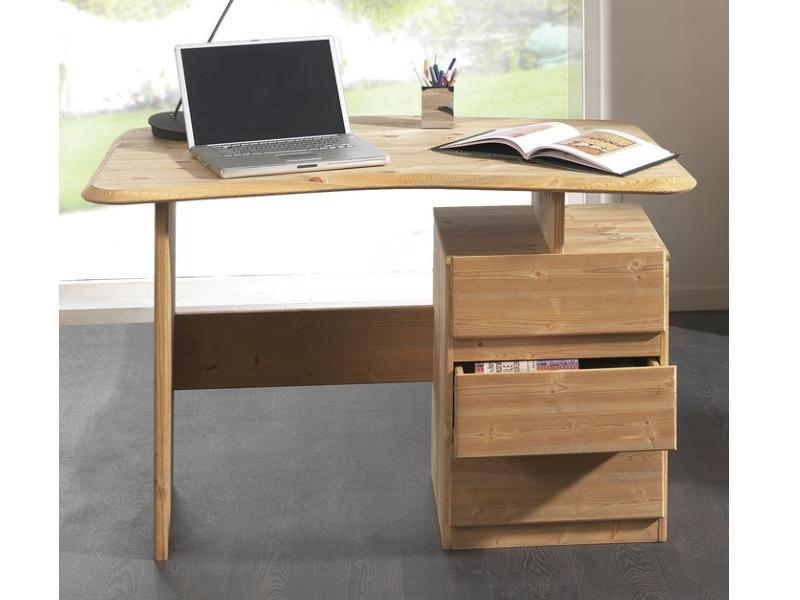 Компьютерный стол из массива №4