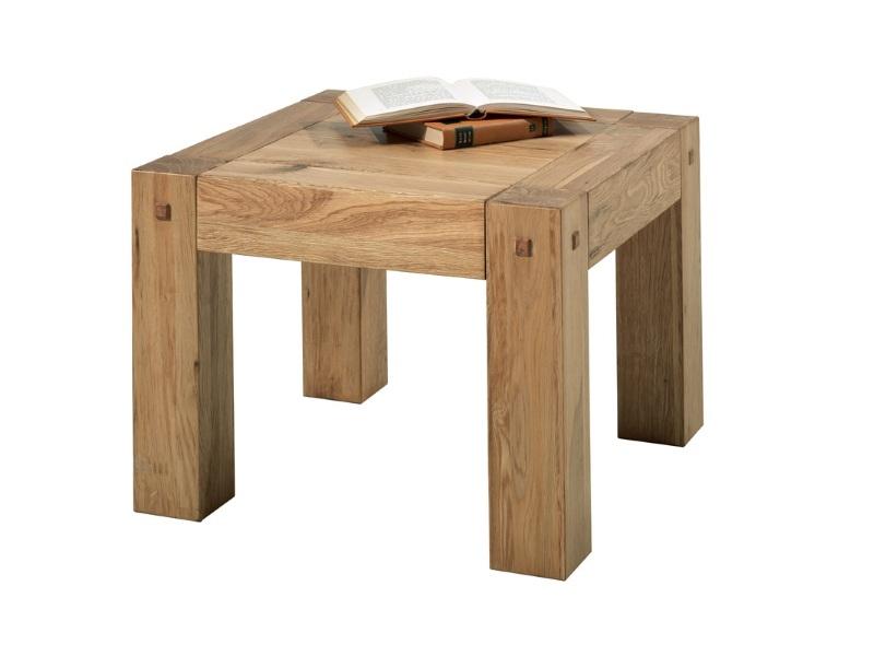 Журнальный столик из натурального дерева премиум-класса