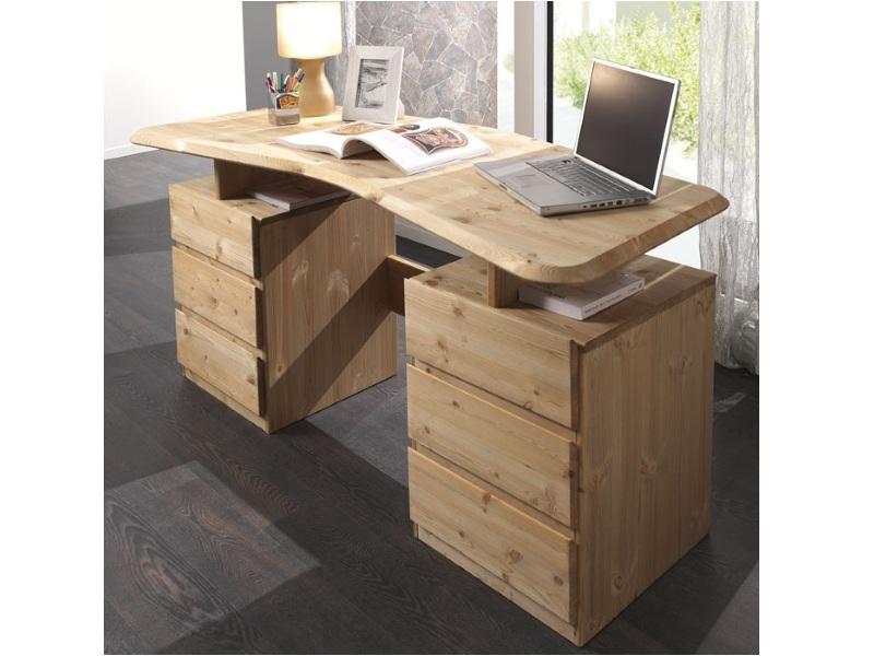 Компьютерный стол из массива №5