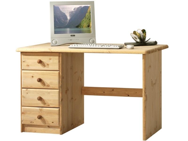 Компьютерный стол из массива №6