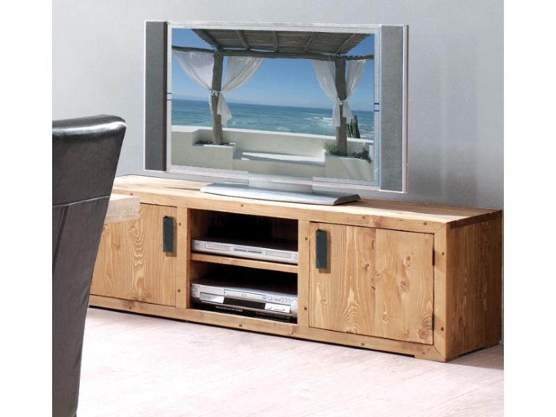 Тумба под телевизор из массива ТВ №1