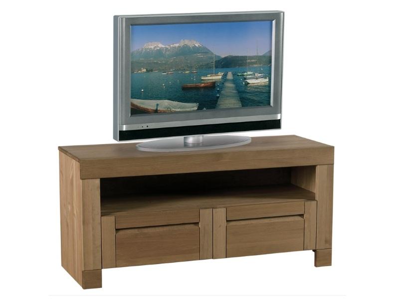 ТУмба под телевизор из массива ТВ №7