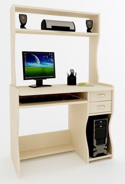 Маленький компьютерный стол Компас С-203 СН
