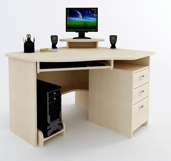 Угловой компьютерный стол Компас С-215