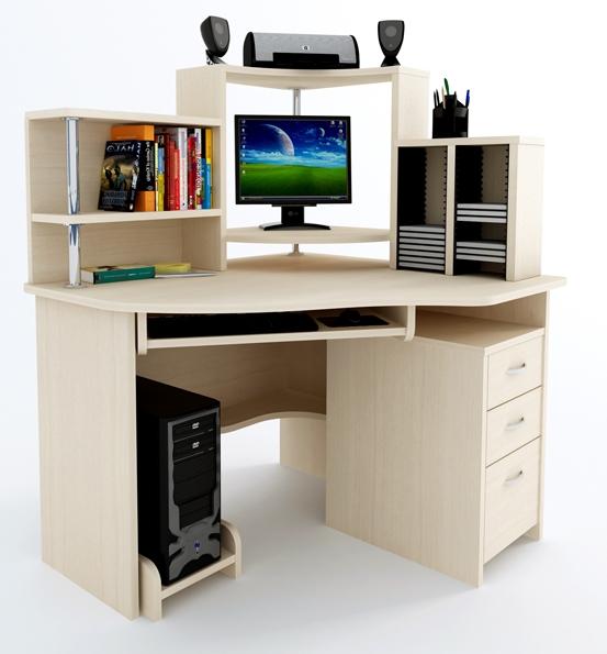 Угловой компьютерный стол Компас CD-215