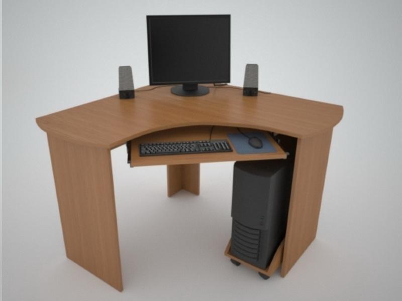 Угловой компьютерный стол СТ-1