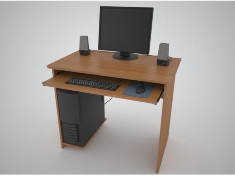 Недорогой компьютерный стол Поинт СТ-6